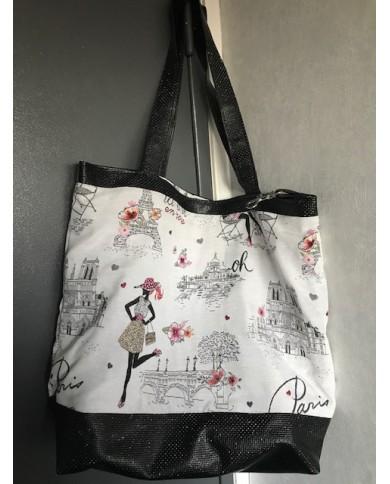 """Grand sac cabas """"Paris"""""""