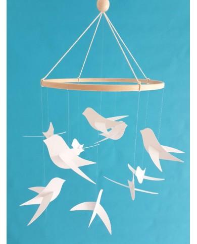 Mobile bébé 10 Oiseaux...