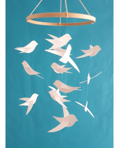 Mobile pour bébé 15 Oiseaux...