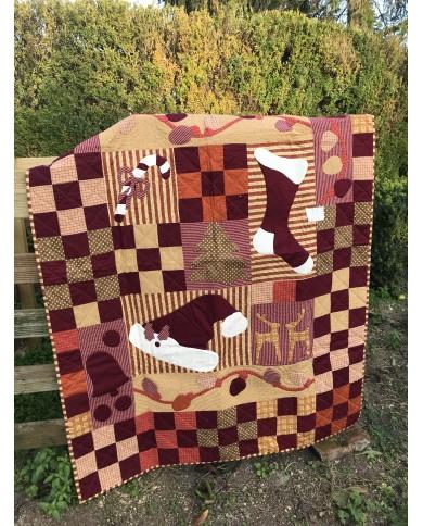 """patchwork """"La botte du Père..."""