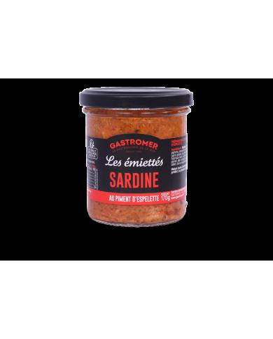 Emiettés de Sardine au...