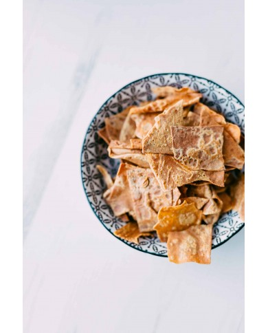 Chips sucrées au froment